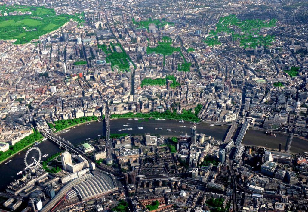 Londres corridors écologiques